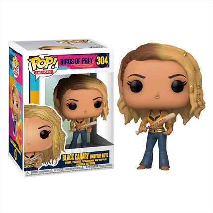 Funko POP o Figura POP DC Birds of Prey Canario Negro Boobytrap Battle
