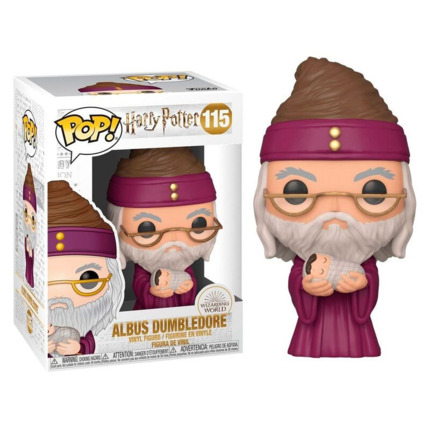Funko POP o Figura POP Dumbledore con Harry Potter Bebé