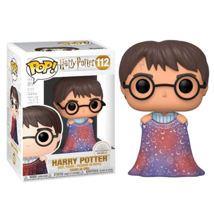 Funko POP o Figura POP Harry Potter Harry con Capa de Invisibilidad