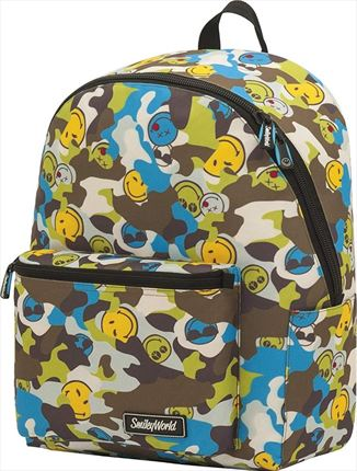 Mochila Escolar Teen Smile (Adaptable a Carro)